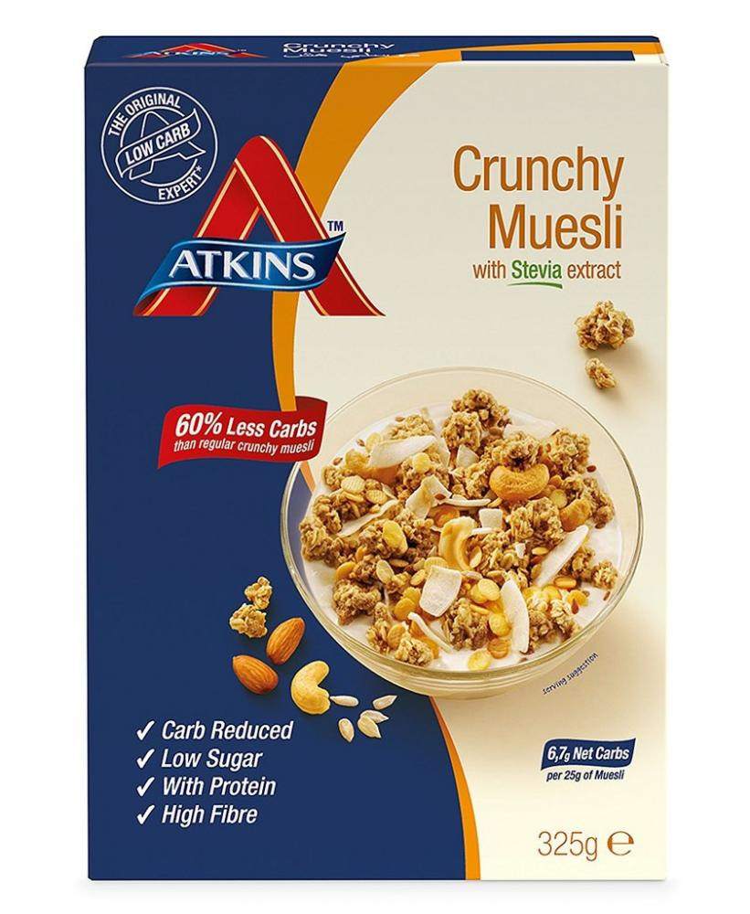 Atkins Crunchy Muesli Cereal with Stevia Extract 325g