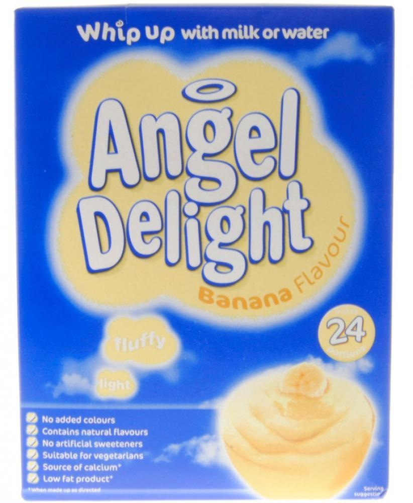 Angel Delight Banana Flavour Dessert Mix 600g