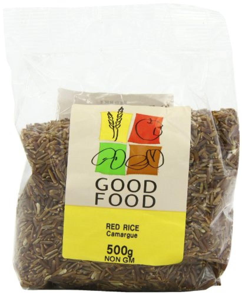 Mintons Good Food Pre-Packed Red Rice Carmargue 500 g