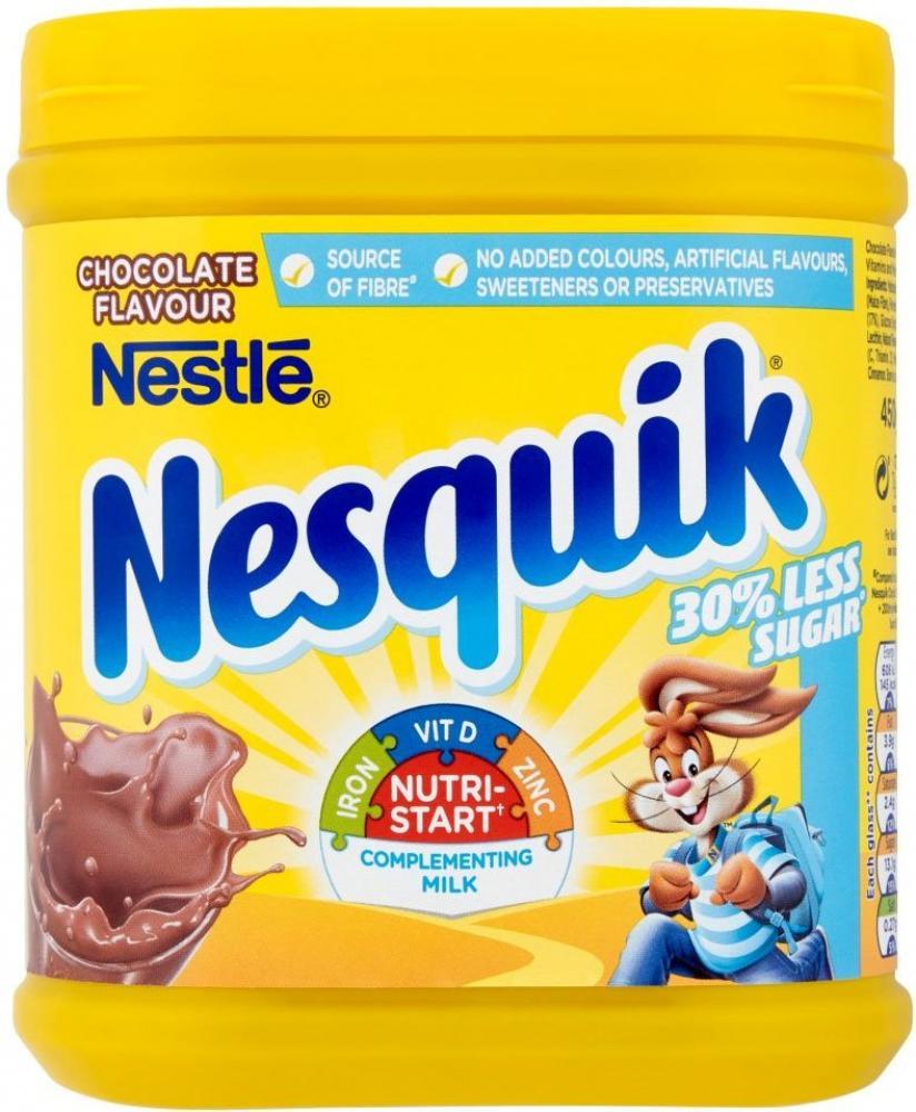 Nestle Nesquik Chocolate Flavour 450g