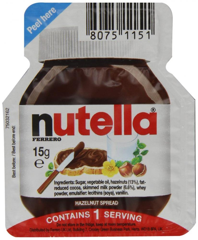 Nutella Single Portions 15 g