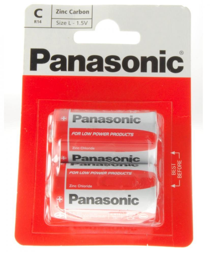 Panasonic C Batteries Twin Pack