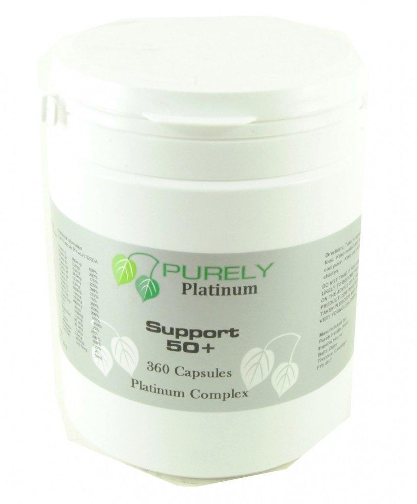 Purely Platinum Support 50 Plus 360 Capsules