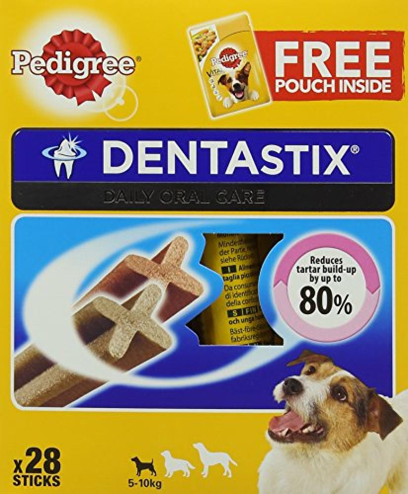 Pedigree Dentastix Dental Dog Chews - Small Dog 28 sticks