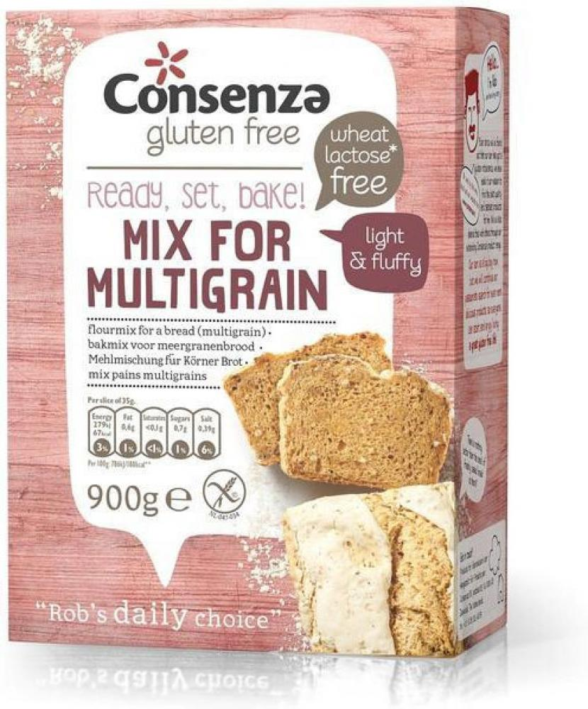 Consenza Gluten Free Mix For Multigrain 900g