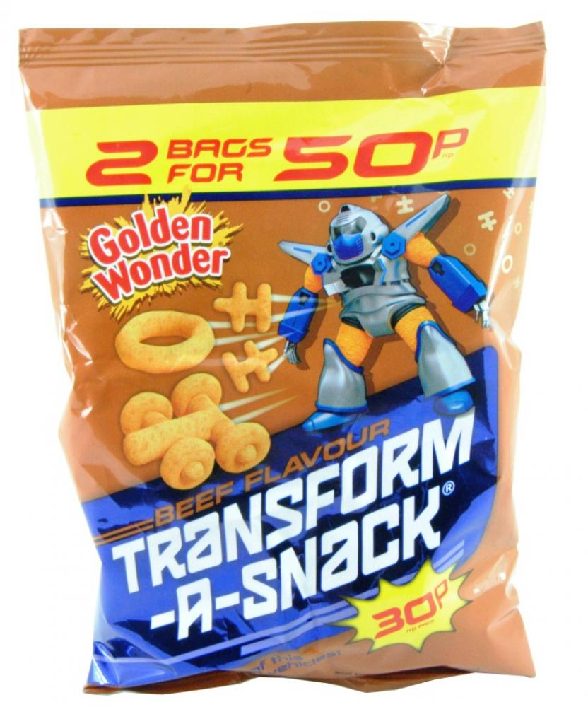 Golden Wonder Transform a Snack Beef Flavour 28g