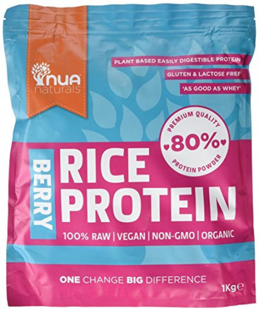 Nua Naturals Organic Rice Protein Berry 1 kg