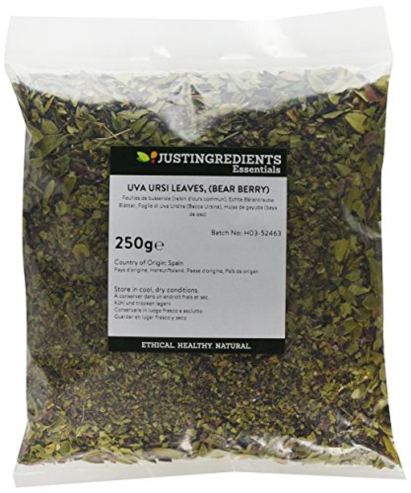 JustIngredients Uva Ursi Leaves Bear Berry 250g