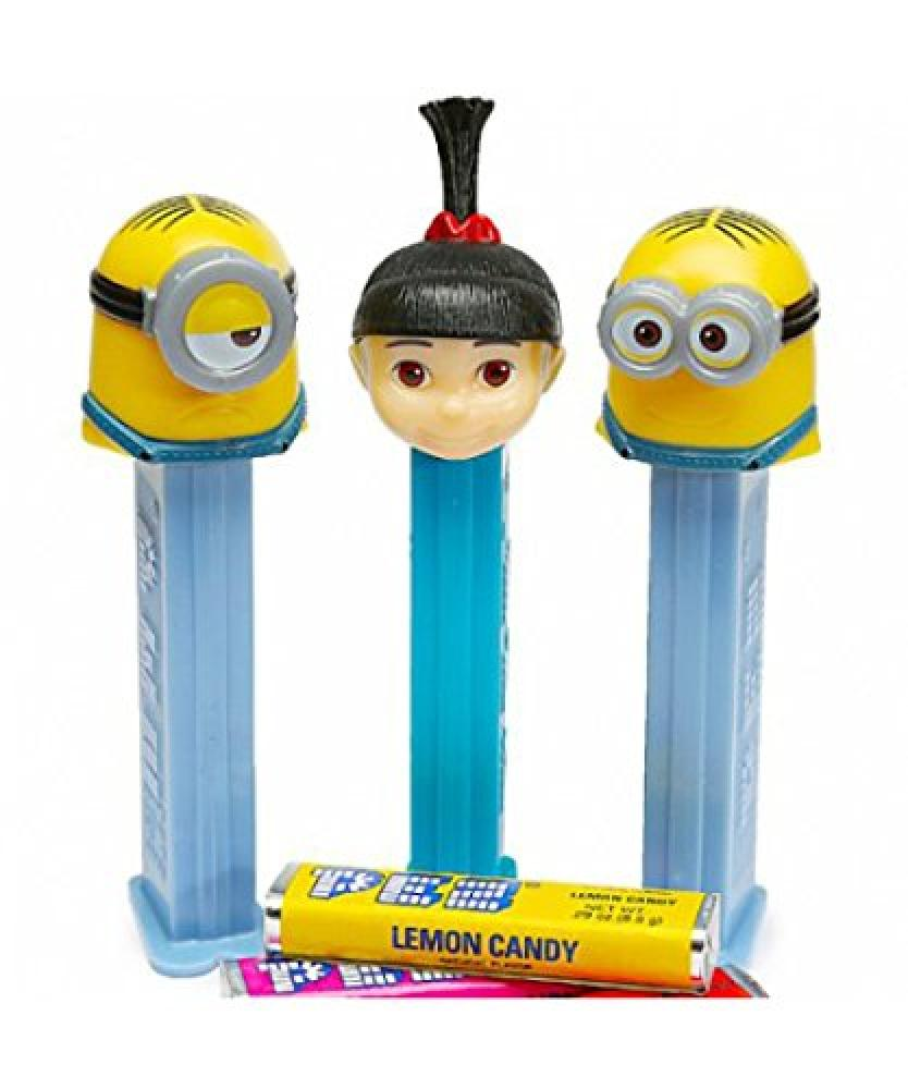 PEZ Poly Pack Despicable Me Assortment Liquorice 16g