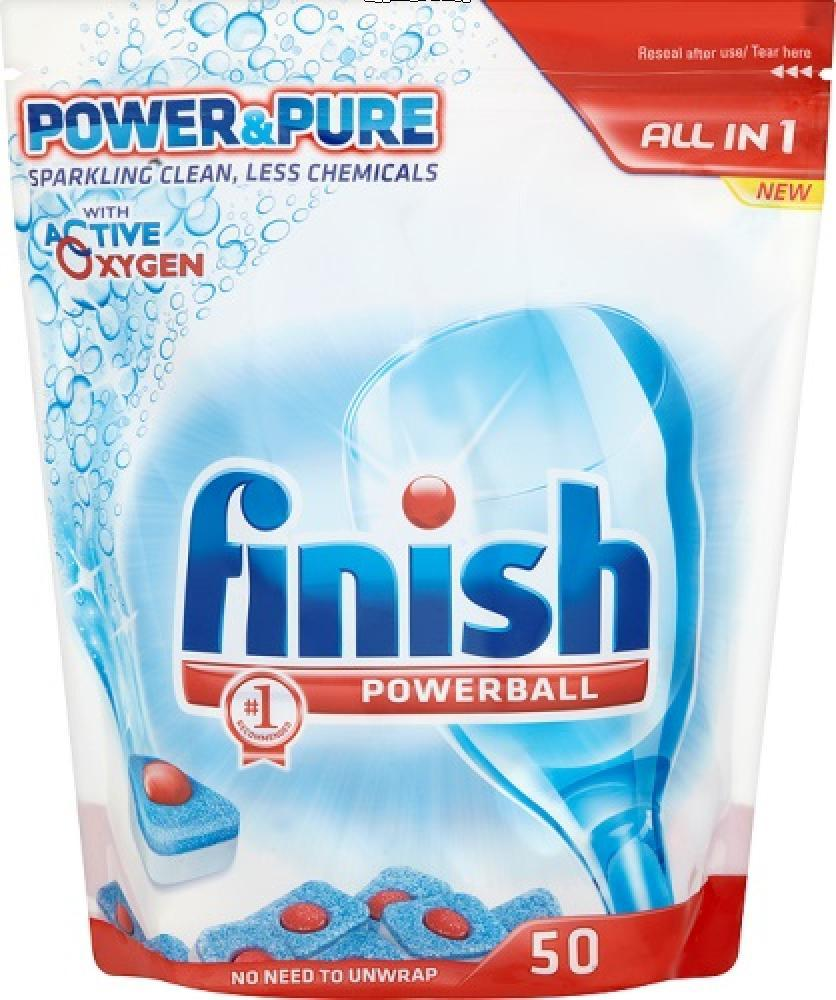 Finish Powerball Power and Pure All In 1 50 Pack