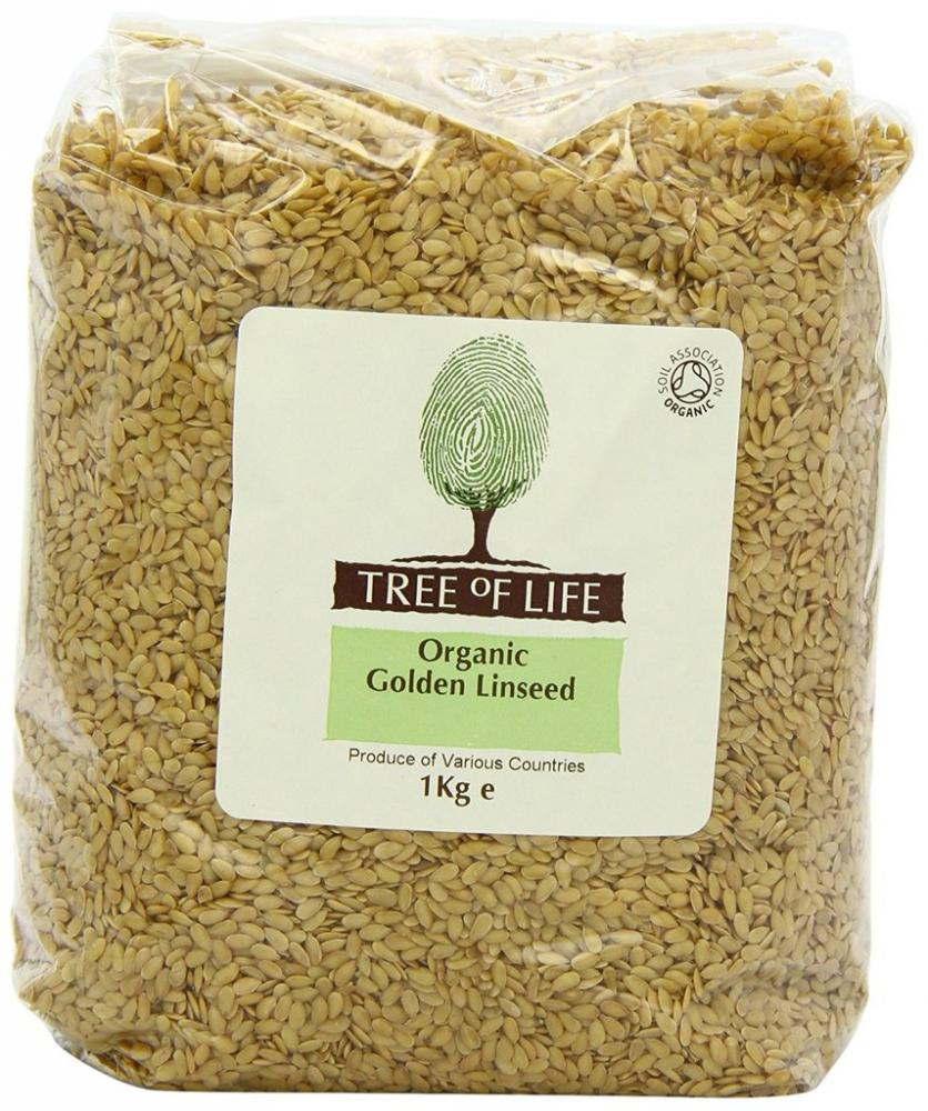 Tree Of Life Organic Golden Linseed 1 Kg