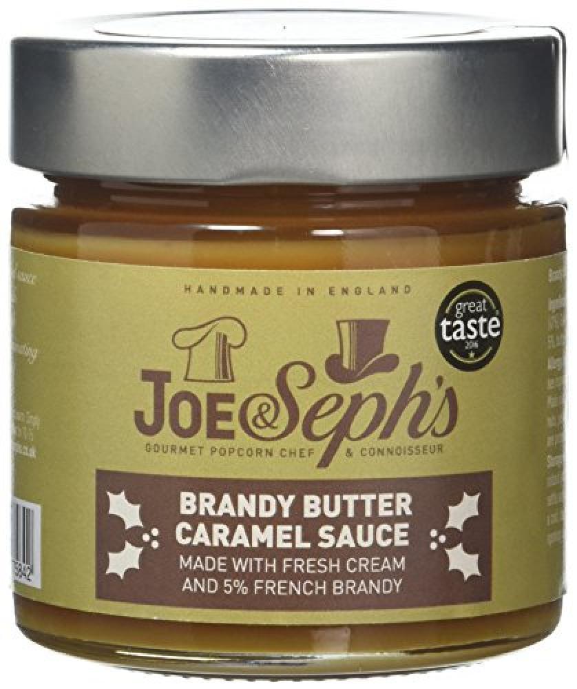 Joe and Sephs Brandy Butter Caramel Sauce 230g
