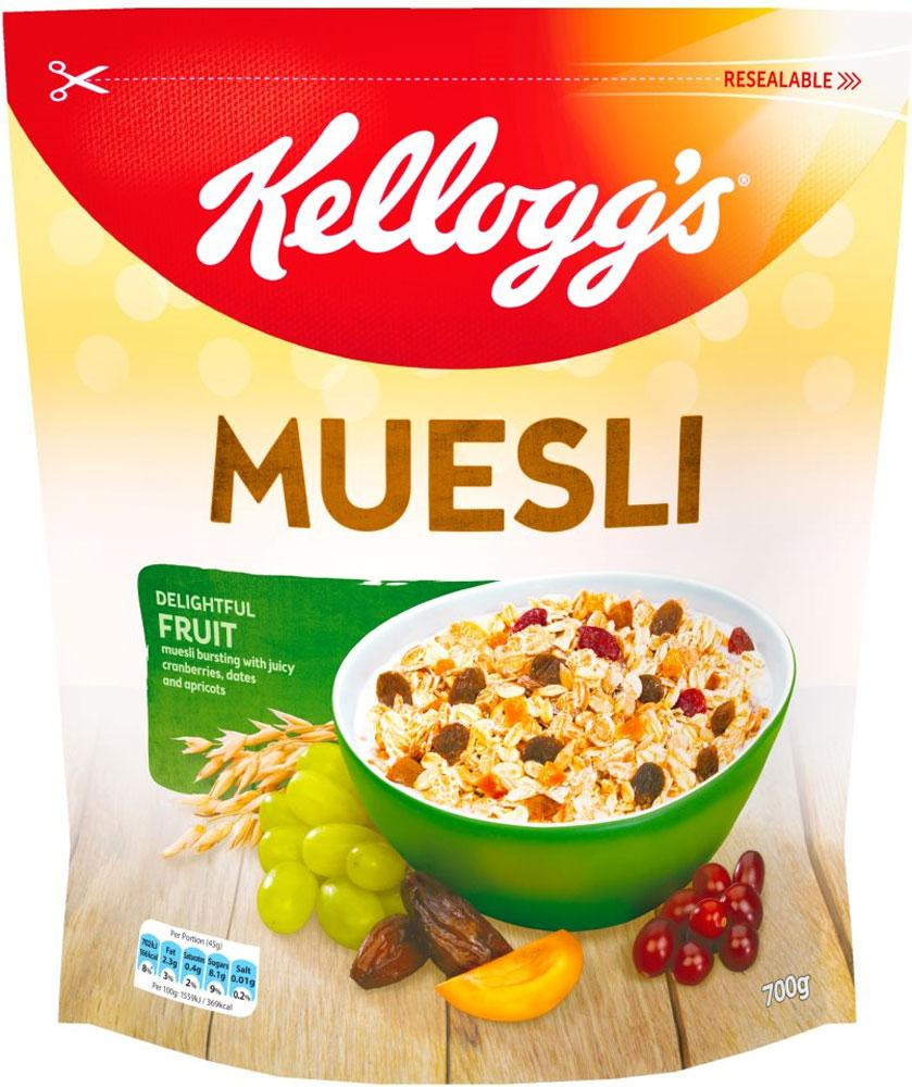 Kelloggs Muesli Delightful Fruit 700g