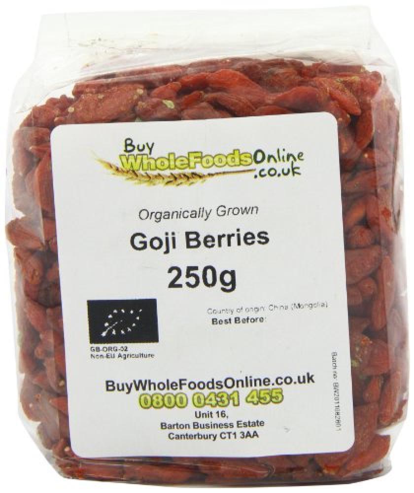Buy Whole Foods Goji Berries 250 g