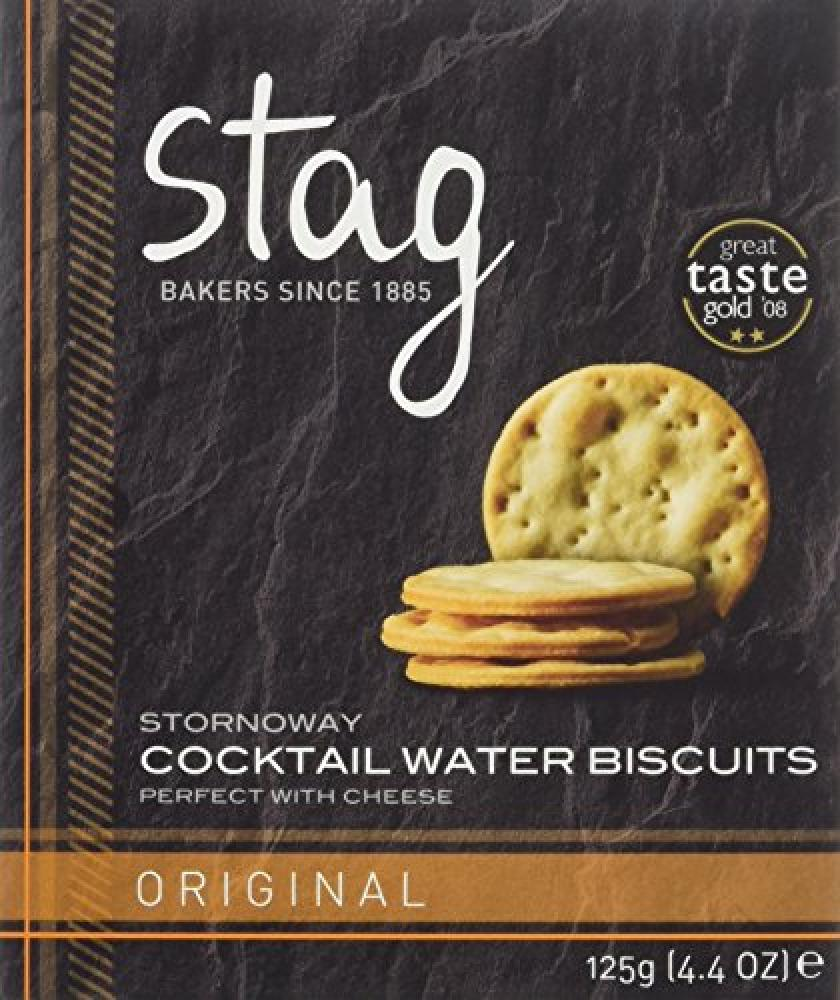Stag Bakeries Original Cocktail Water Biscuits 125 g