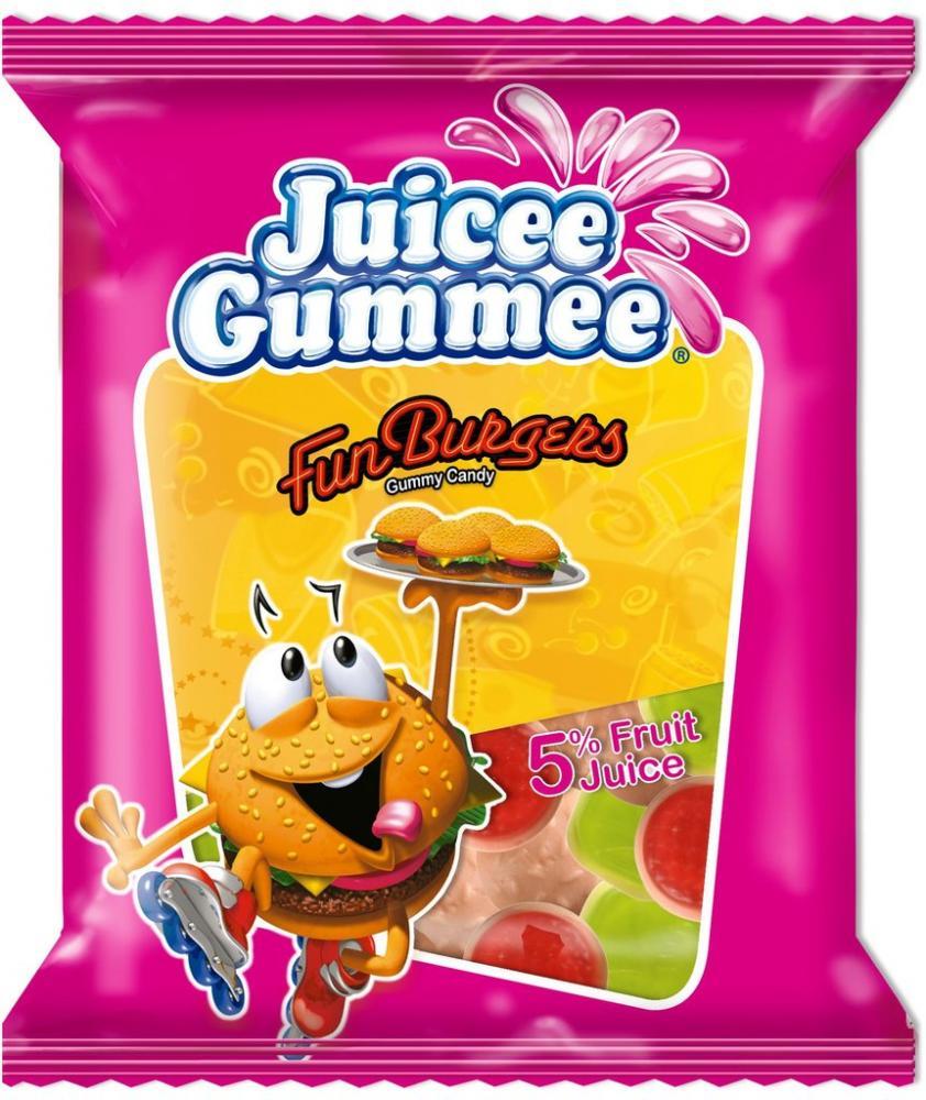 Juicee Gummee Fun Burgers 150g