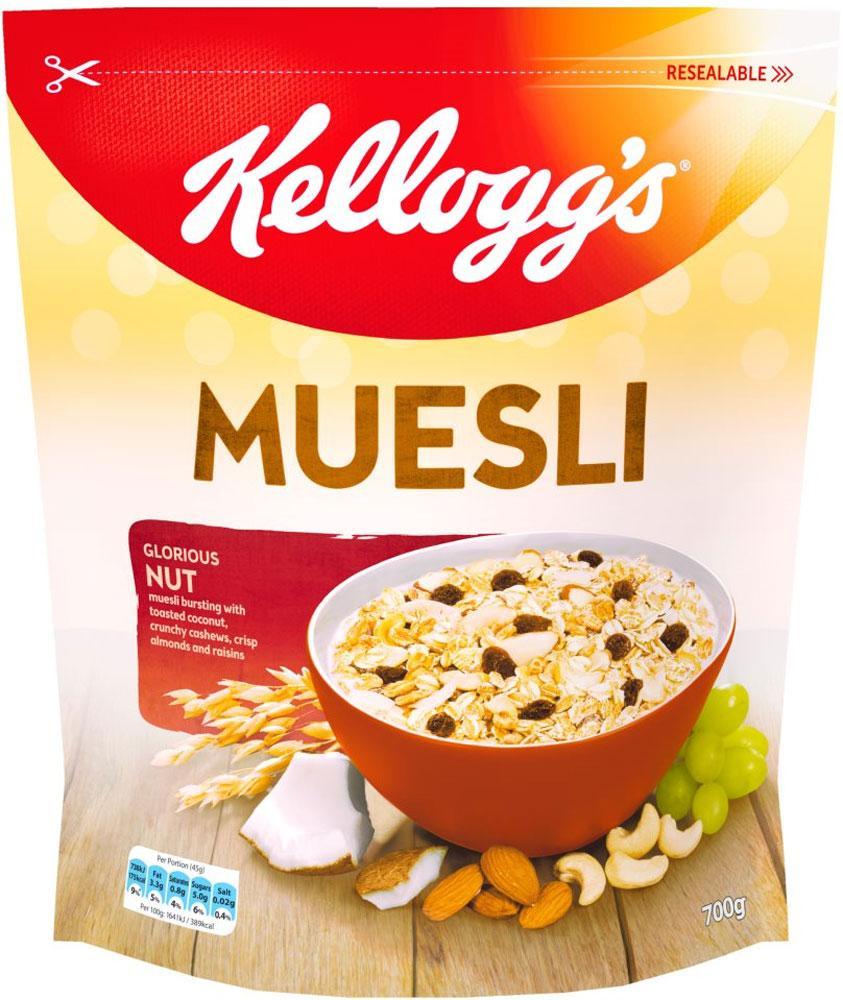 Kelloggs Muesli Glorious Nut 700g