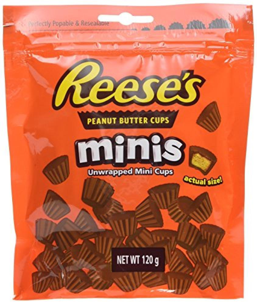 Hersheys Reeses Peanut Butter Cups Minis 120g