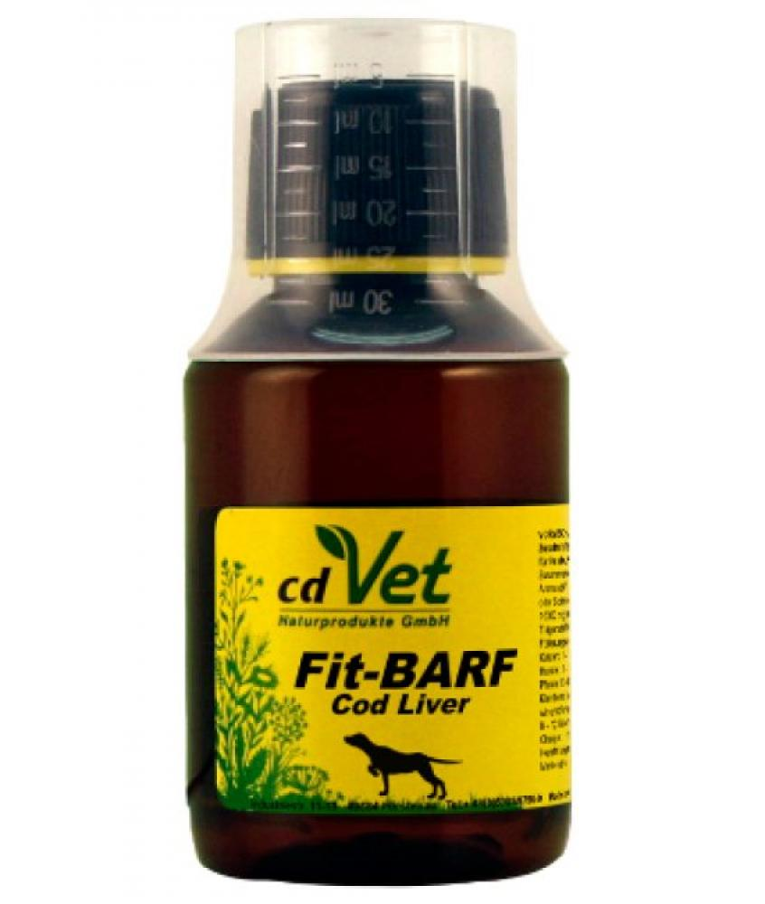 CD Vet Fit-Barf Cod Liver Oil 100ml