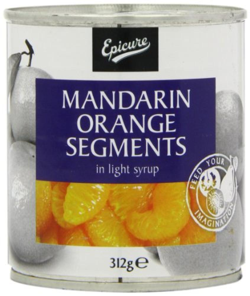 Epicure Mandarin Orange Segments 312g
