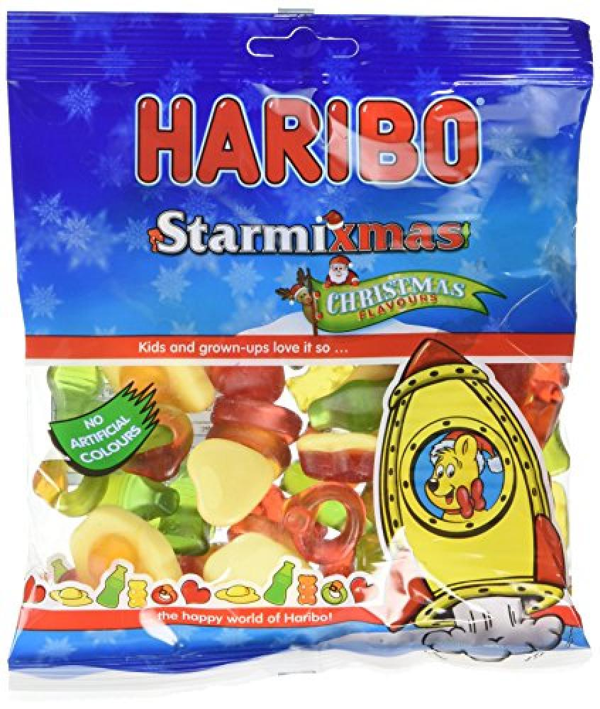 Haribo Starmixmas Jelly Bag 200g