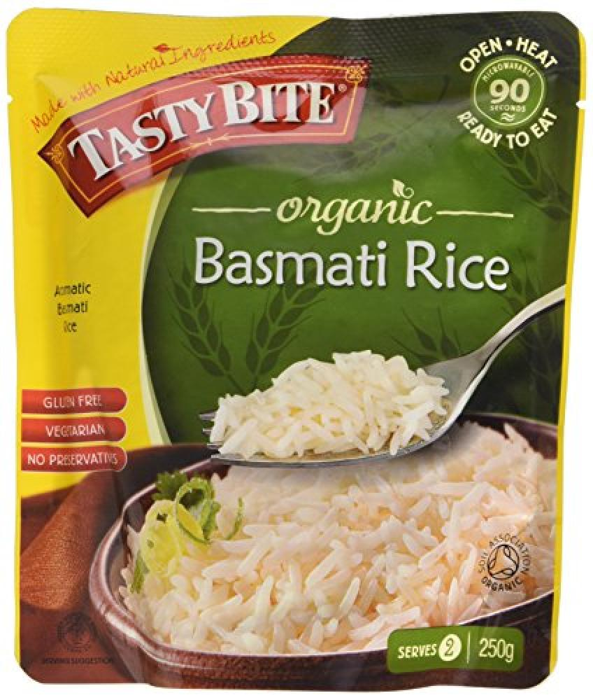 Tasty Bites Organic Basmati Rice 250g
