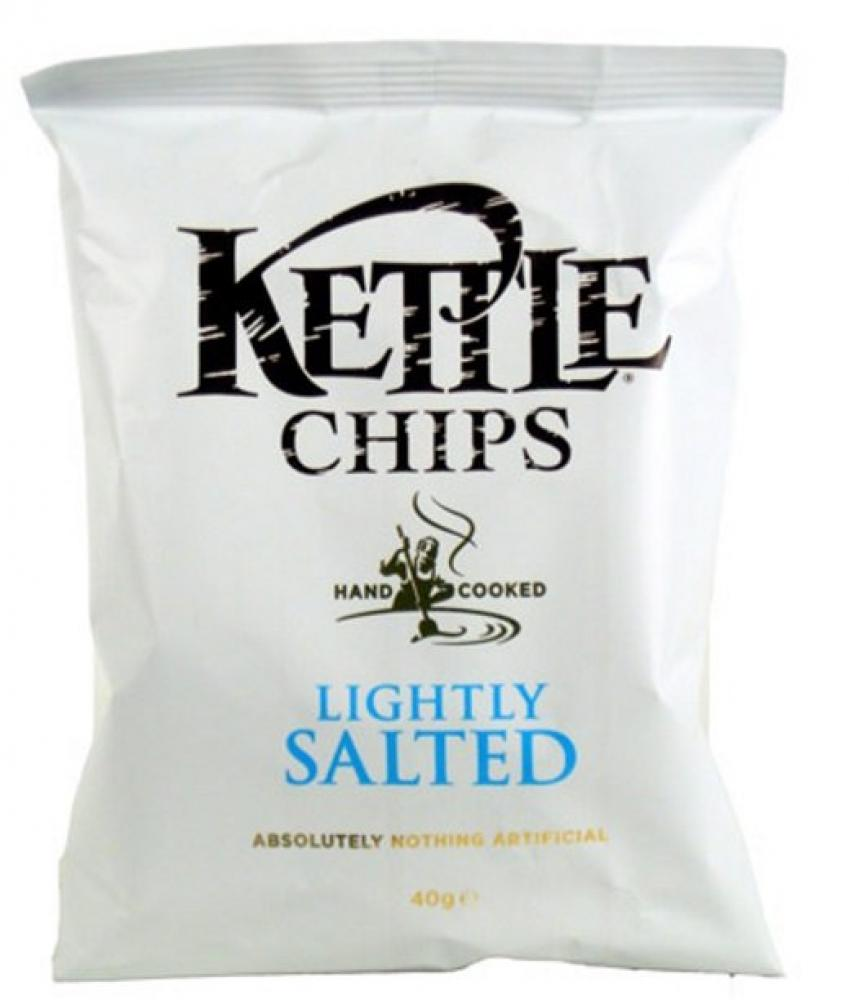 Kettle Chips Lightly Salted 40g