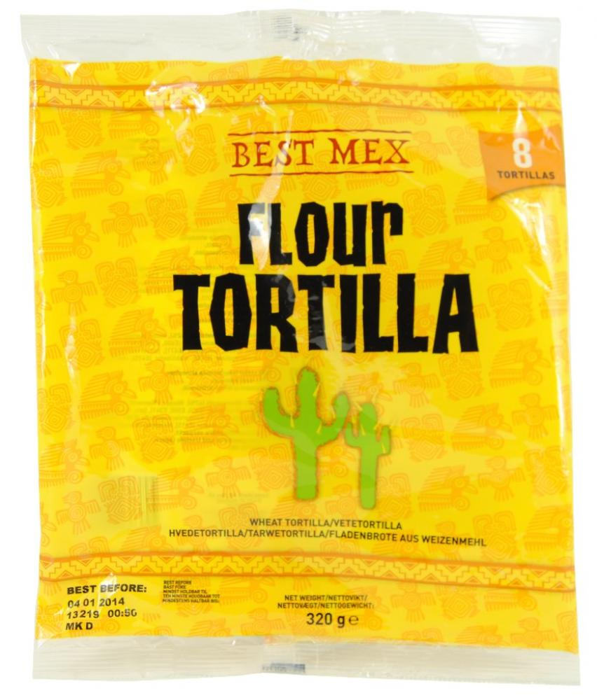 SPECIAL OFFER  Best Mex 8 Flour Tortillas 320g