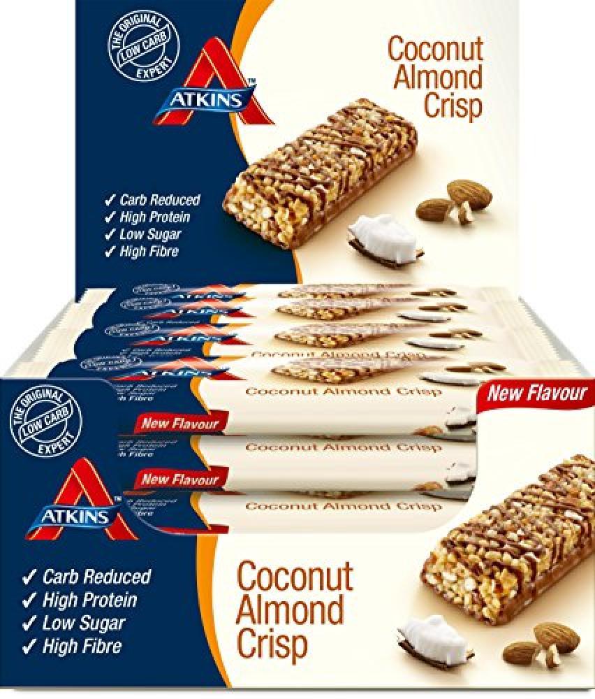 Atkins Coconut Almond Crisp Bar 60g
