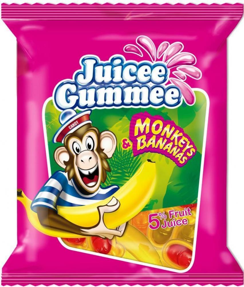 Juicee Gummee Monkeys and Bananas 150g