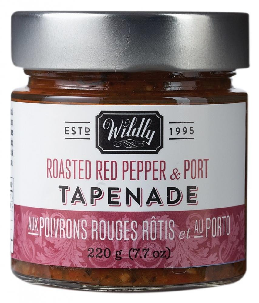 Wildly Delicious Roasted Red Pepper and Port Tapenade 220g