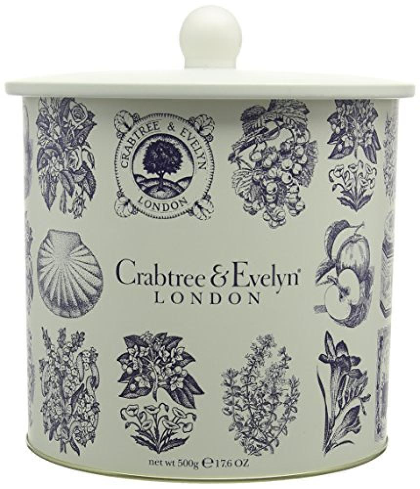 Crabtree and Evelyn Fine Foods Heritage 5 Biscuit Barrel