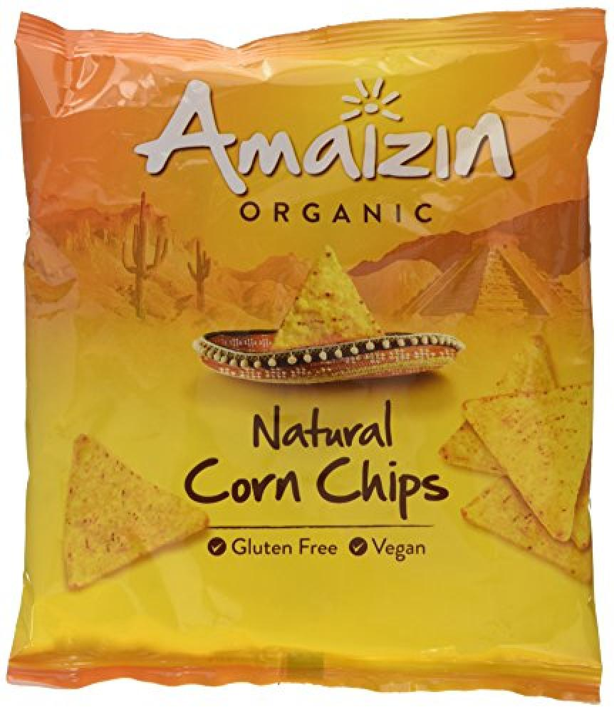 Amaizin Organic Natural Corn Chips 75 g
