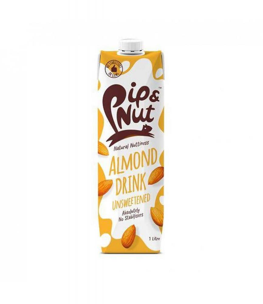 Pip and Nut Almond Drink Unsweetened 1l
