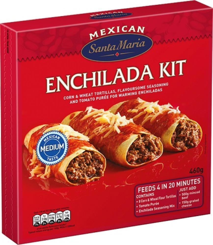 Santa Maria Enchilada Kit 460g