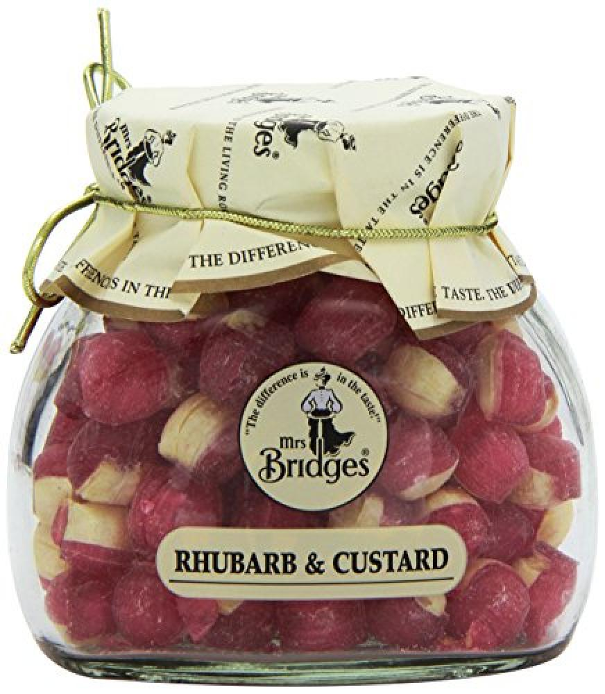 Mrs Bridges Rhubarb and Custard Sweet Jar 155g