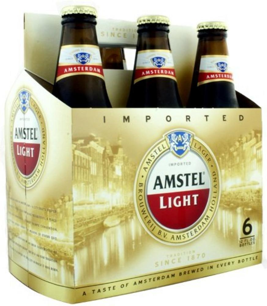 Amstel Light 355ml x 6