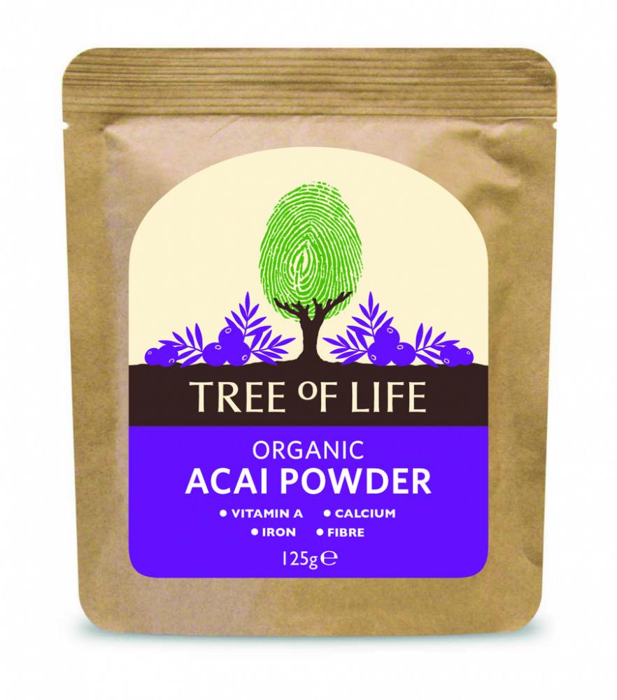 Tree Of Life Organic Acai Powder 125g