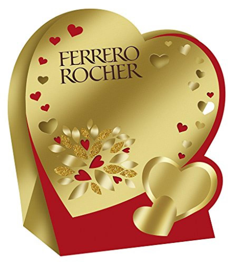Ferrero Heart Box 4 Pieces 50g