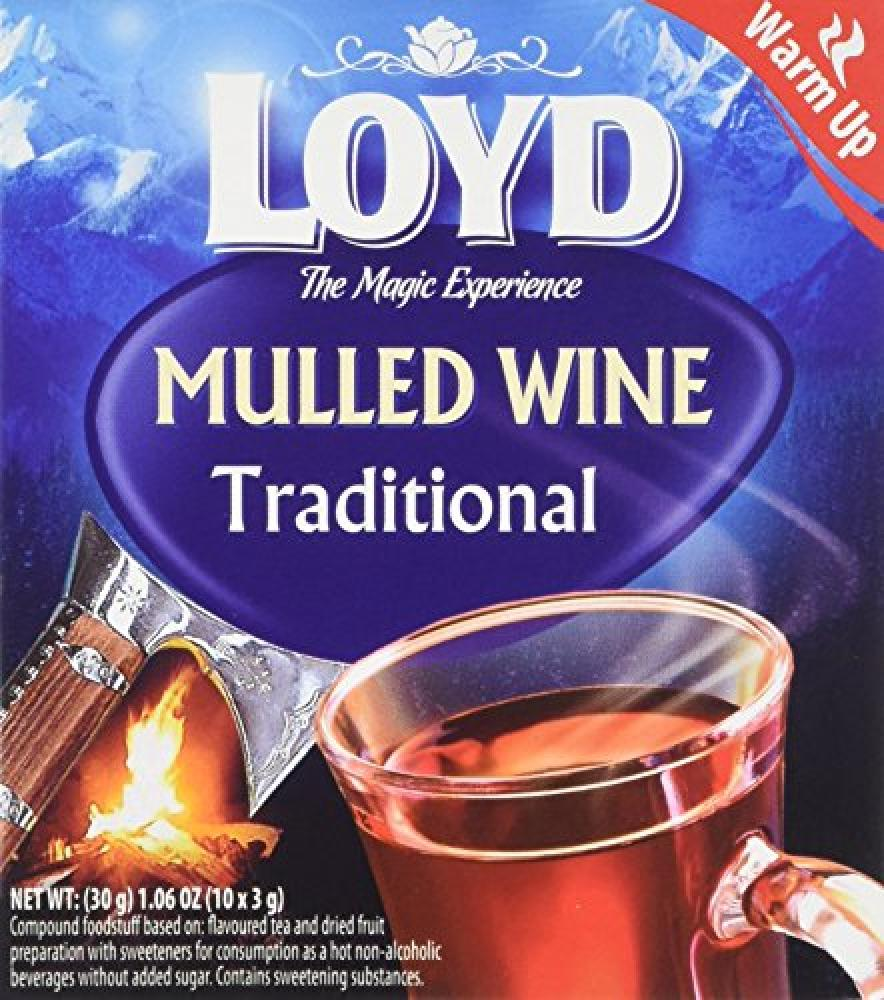 Mokate Loyd Traditional Mulled Wine 10 Teabags 30 g