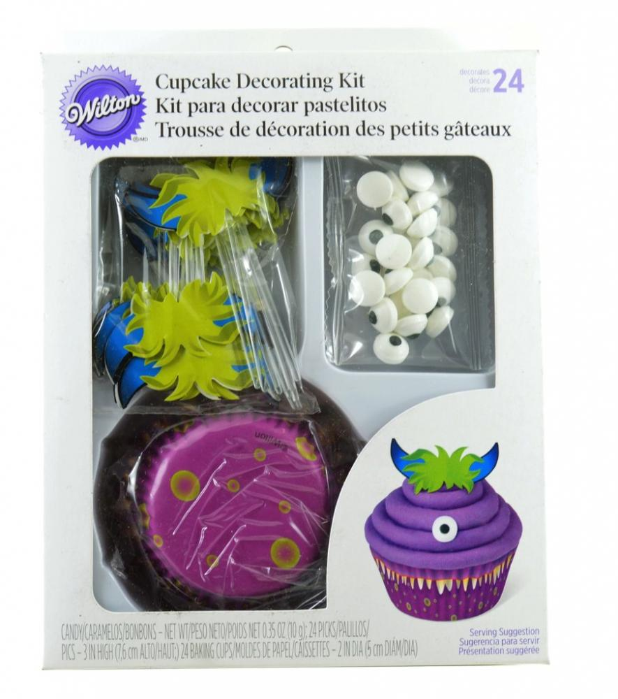 Wilton Cake Decorating Kit Uk : Wilton Cupcake Decorating Kit for 24 Approved Food