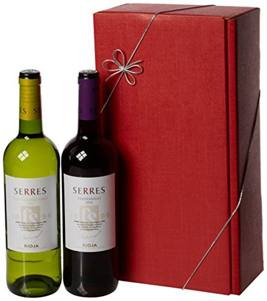 Le Bon Vin Carlos Serres Rioja Twin Wine Gift Set 20132014 75 cl (Case of 2)