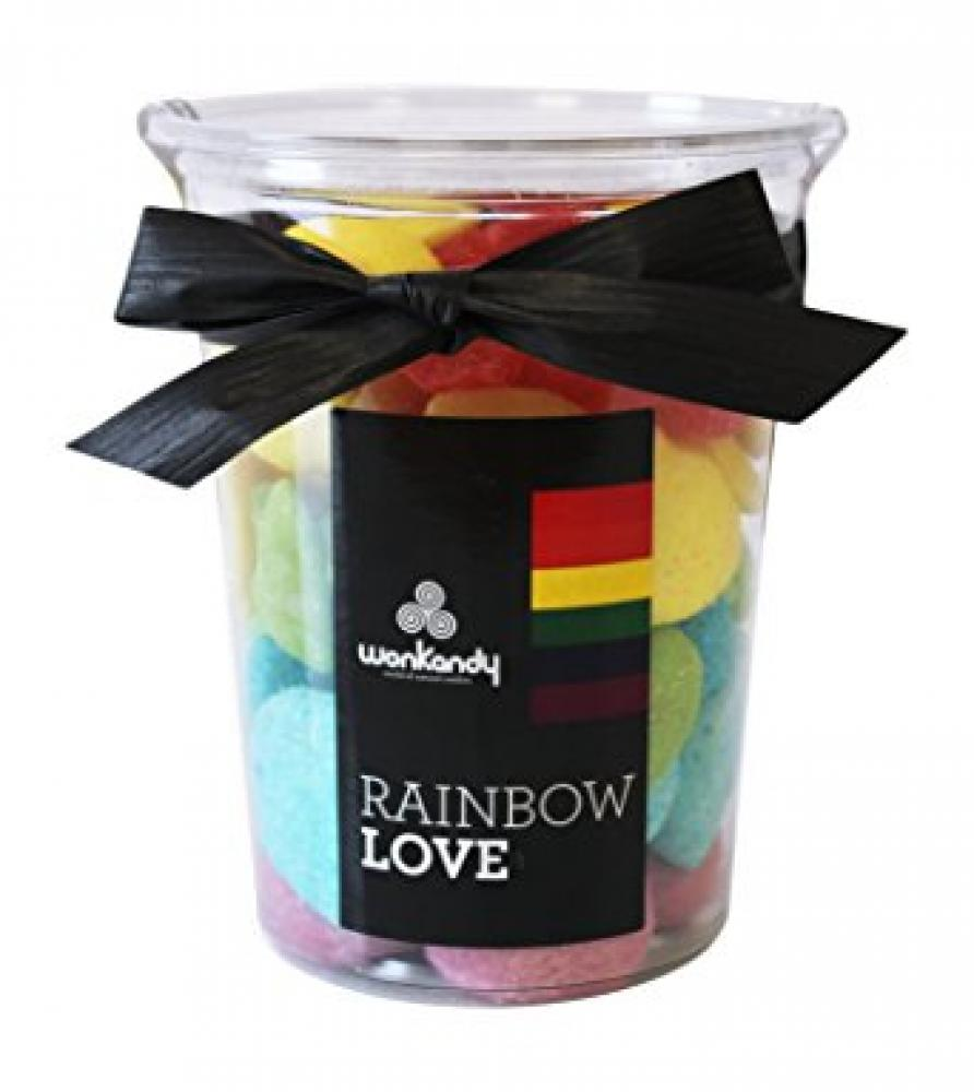 Wonkandy Rainbow Love Sweets Cube 432g