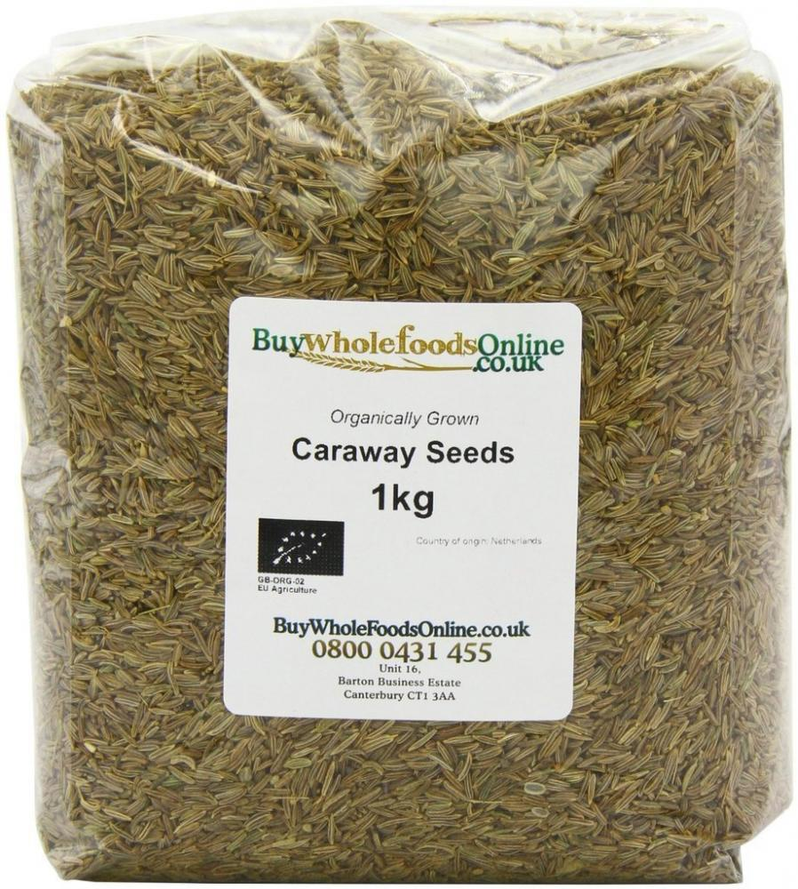 Buy Whole Foods Organic Caraway Seeds 1kg