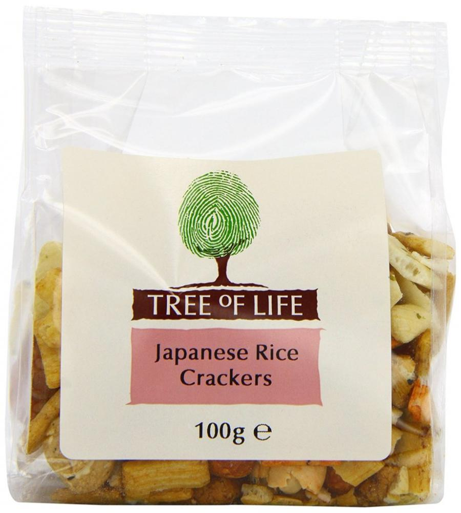 Tree Of Life Japanese Rice Crackers 100 g