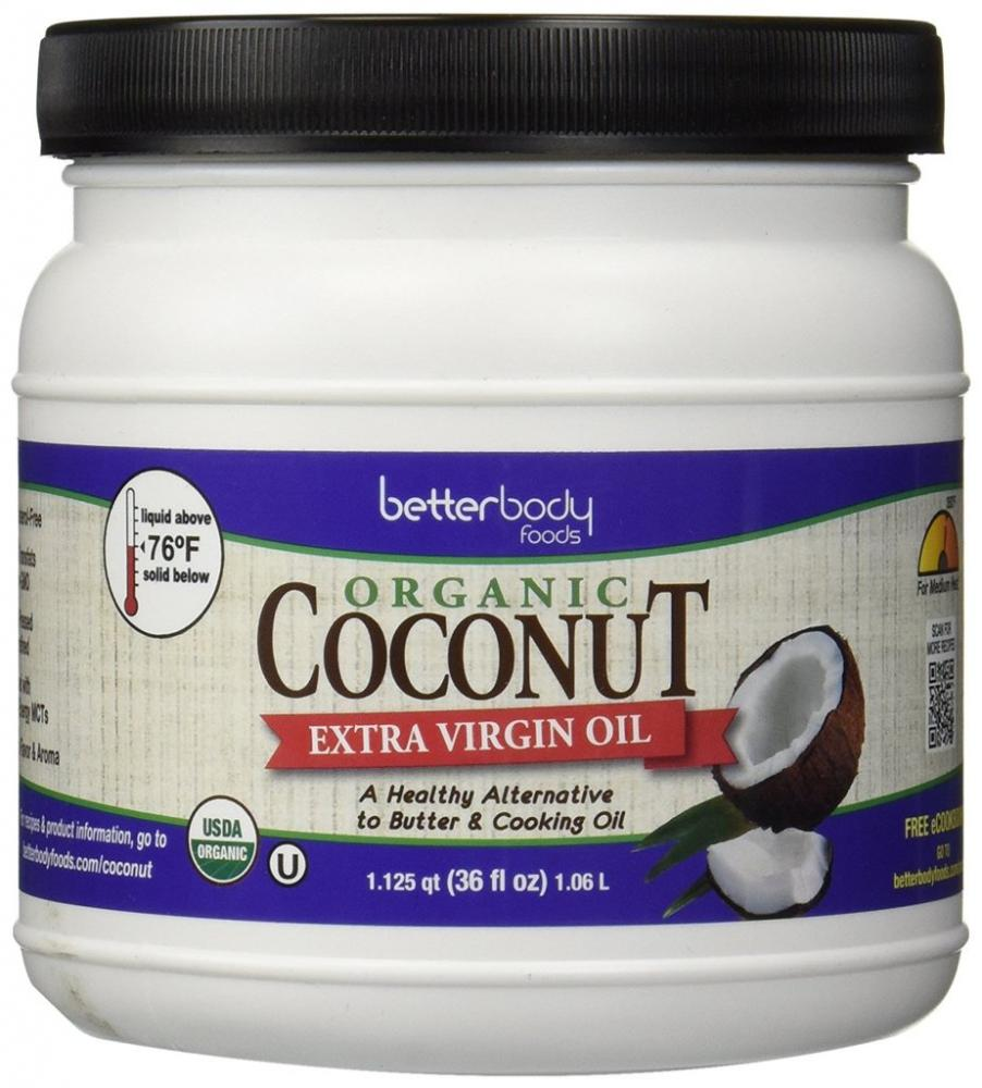 BetterBody Organic Coconut Oil 1l