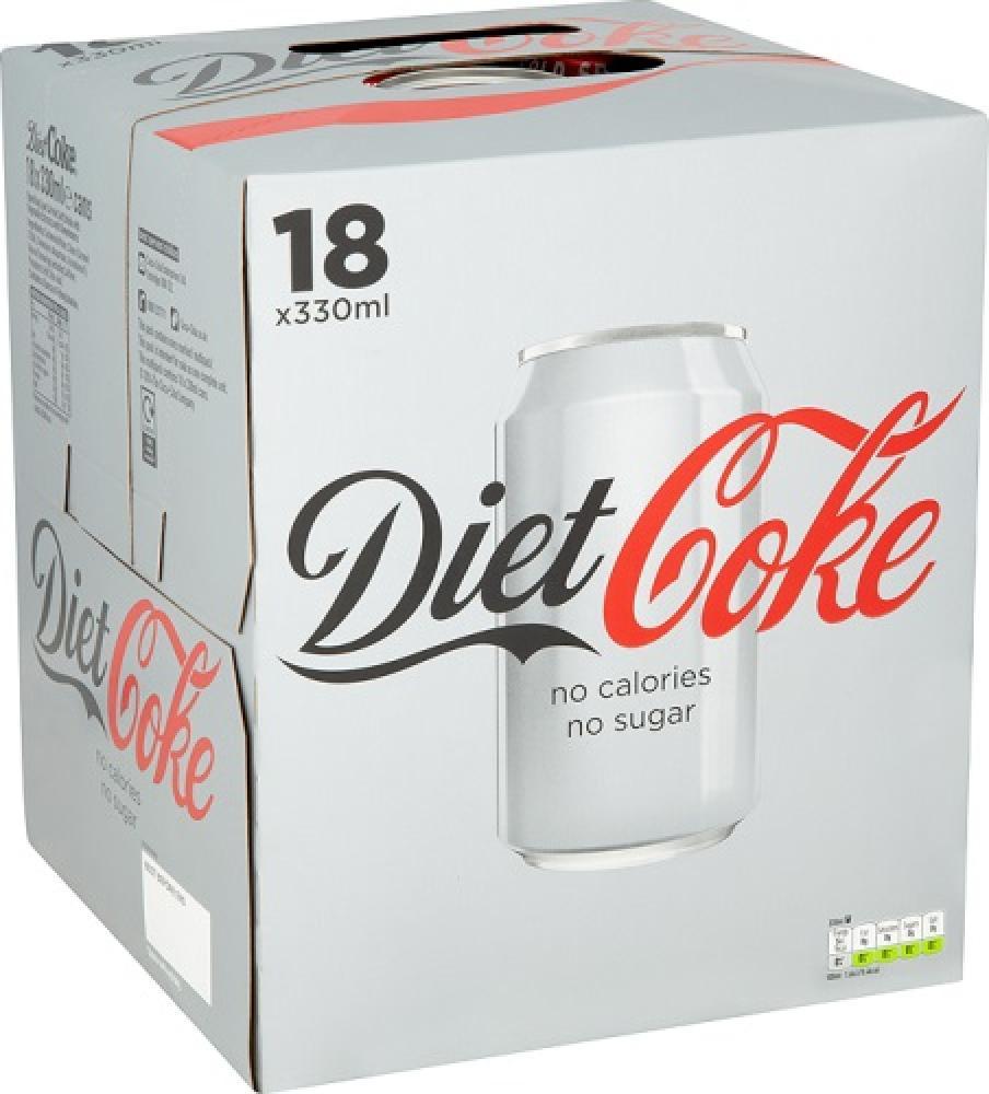 Diet Coke 18 x 330ml