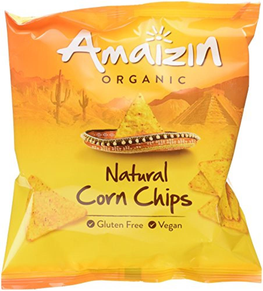 Amaizin Bio Corn Chips Natural 75 g