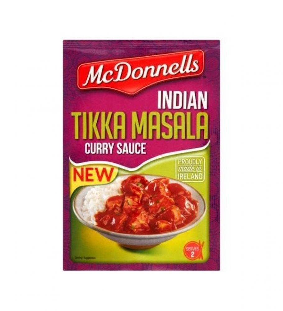Mcdonnells Tikka Masala Curry Sauce Sachet 50g