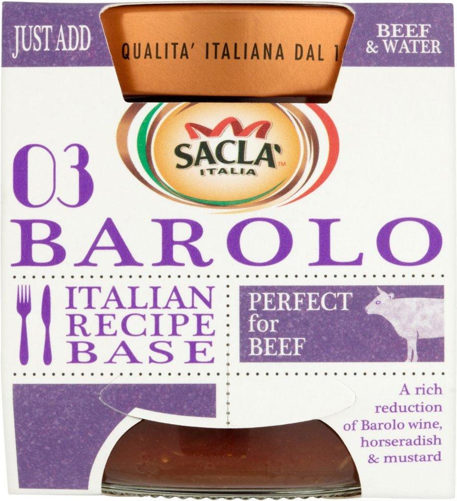 Sacla Italia 03 Barolo Recipe Base 190g